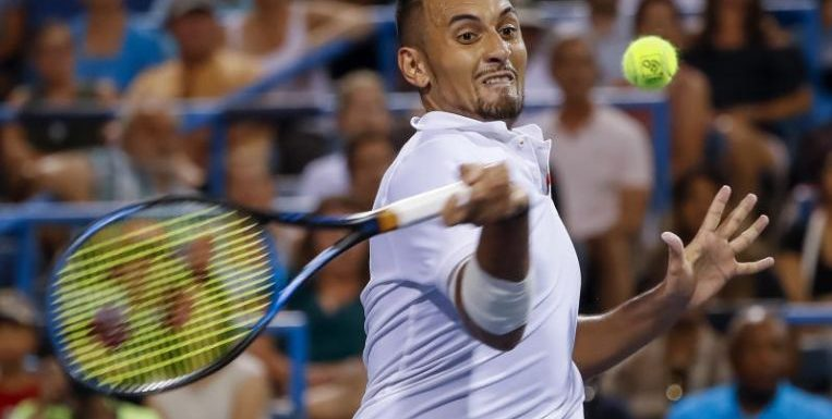 Tennis: 'Showman' Nick Kyrgios ousts top seed Stefanos Tsitsipas to reach ATP Washington final