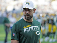 Aaron Rodgers to play 'a quarter or so' at Ravens