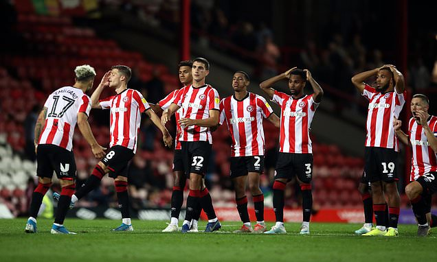 Carabao Cup round-up: Brentford and Middlesbrough suffer shock exits