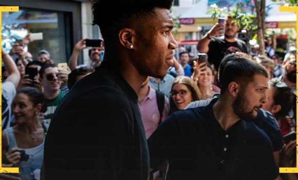 Giannis Antetokounmpo: NBA star's rise from 'hustling' on Athens streets to MVP award