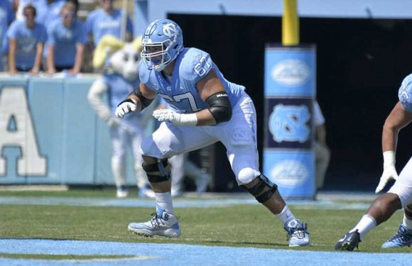 For UNC tackle Charlie Heck, family, football and a long NFL future all tie together
