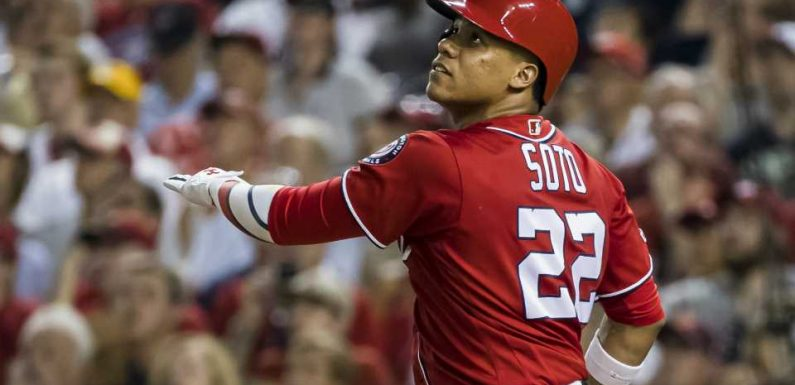 Nationals' Juan Soto is one of the best young hitters in MLB history