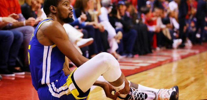 Kevin Durant responds to Raptors fans who cheered Game 5 injury