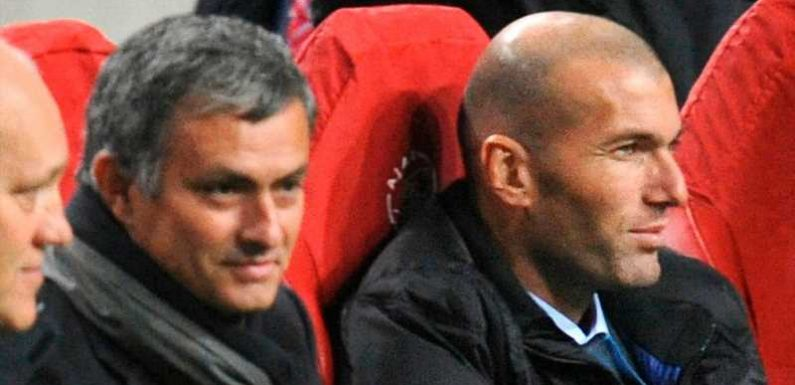 Jose Mourinho to wait for Real Madrid boss Zinedine Zidane – Euro Paper Talk