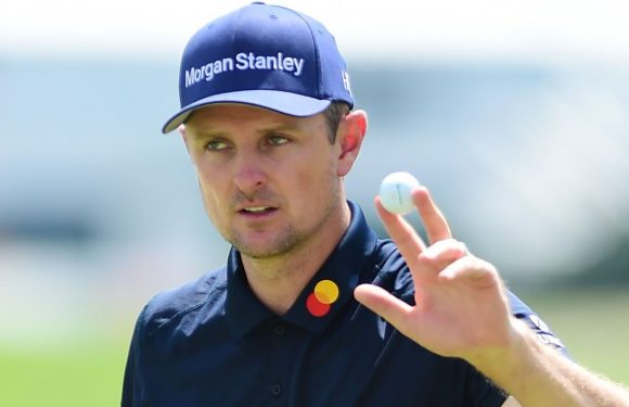 Justin Rose content with his work at The Northern Trust