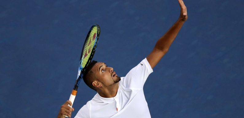 Nick Kyrgios charges into second round at Cincinnati Masters
