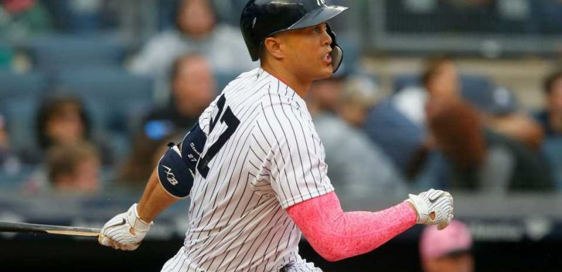 Giancarlo Stanton injury update: Yankees slugger 'moving in the right direction'