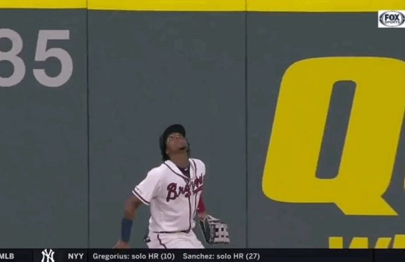 Ronald Acuña Jr. Gives Gravity The Middle Finger, Robs Home Run