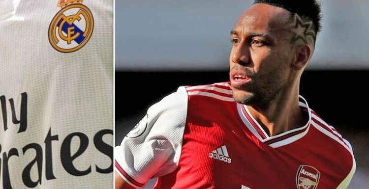 Arsenal star Pierre-Emerick Aubameyang holding secret talks about Real Madrid transfer