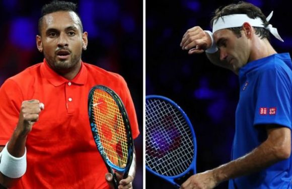 'I saw a really hot chick' – Nick Kyrgios jokes about distraction against Roger Federer