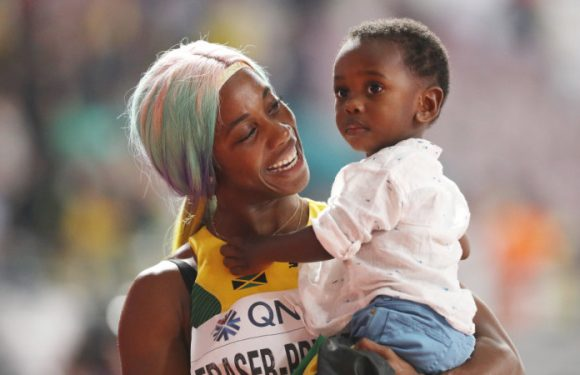 Mother's Day in Doha as Fraser-Pryce, Felix win golds at worlds