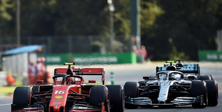 Formula One: Ferrari's Charles Leclerc grabs pole in Monza to the delight of Italy; Lewis Hamilton joins him on front row