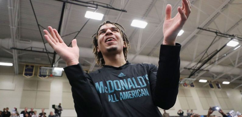 Top prospect Anthony dazzles UNC crowd at rally