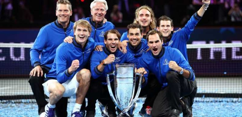 Laver Cup: Alexander Zverev and Roger Federer see Europe rally for win
