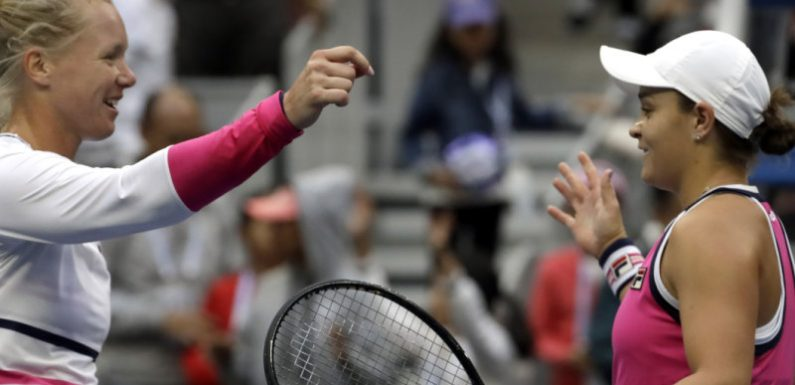 Barty holds off Bertens to reach China Open final
