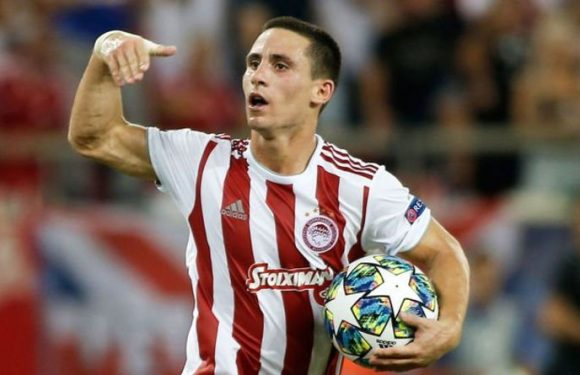 Arsenal may raid Olympiakos for Daniel Podence with Gunners scouts active in Greece