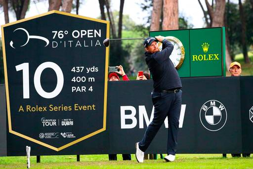 Shane Lowry facing battle to regain Race to Dubai lead after tough opening round in Italy