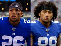 Giants rule out Saquon Barkley, Evan Engram for 'TNF'