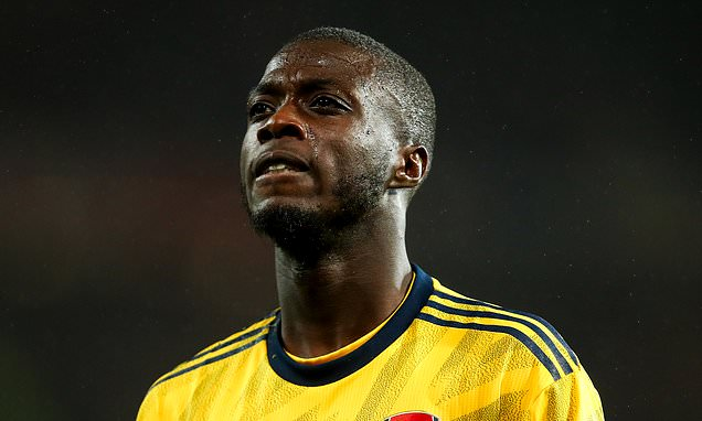 Emery urges misfiring Pepe to embrace the pressure of £72m price tag