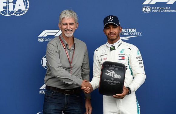 Hill claims Lewis Hamilton is the best driver the UK has ever produced