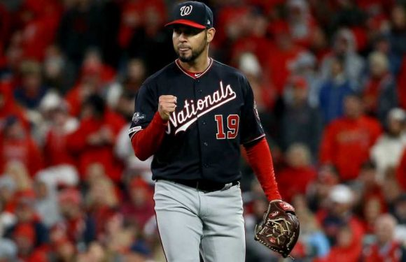 Anibal Sanchez's performance wows young stars and established vets in Nationals' clubhouse