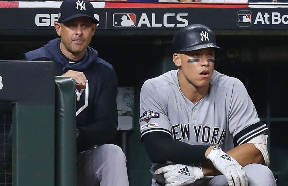 For Aaron Boone and Yankees, it's go bold or go home