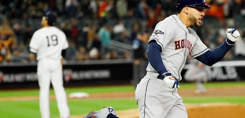 MLB playoffs daily: Astros have World Series in their sight