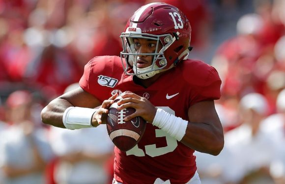 Alabama's Tagovailoa ruled out with ankle injury