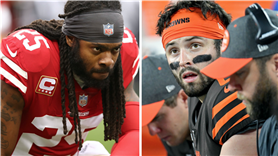Did Baker Mayfield actually snub Richard Sherman in handshake controversy?
