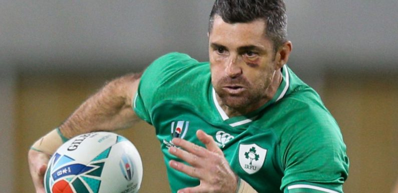 Ireland name Rob Kearney at full-back for Rugby World Cup quarter-final against New Zealand