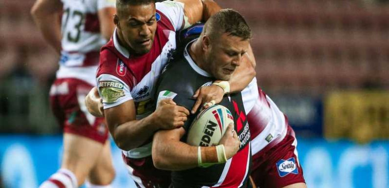 Super League Grand Final: Josh Jones front and centre for Salford Red Devils