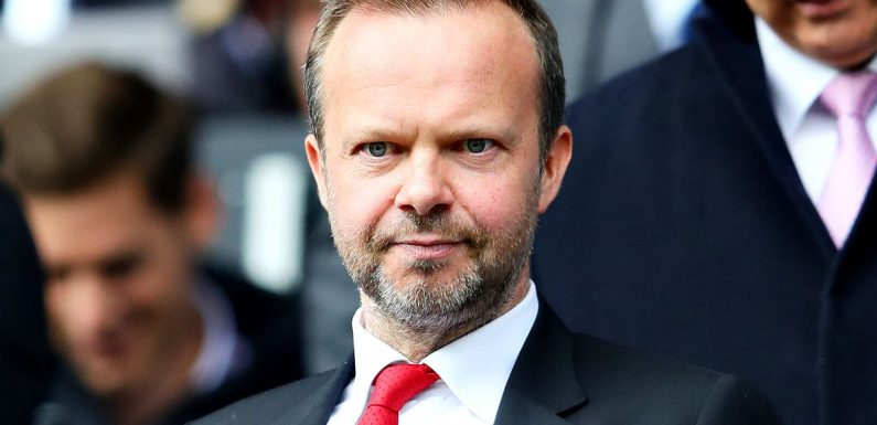 Ed Woodward's January Man Utd transfer plans laid out