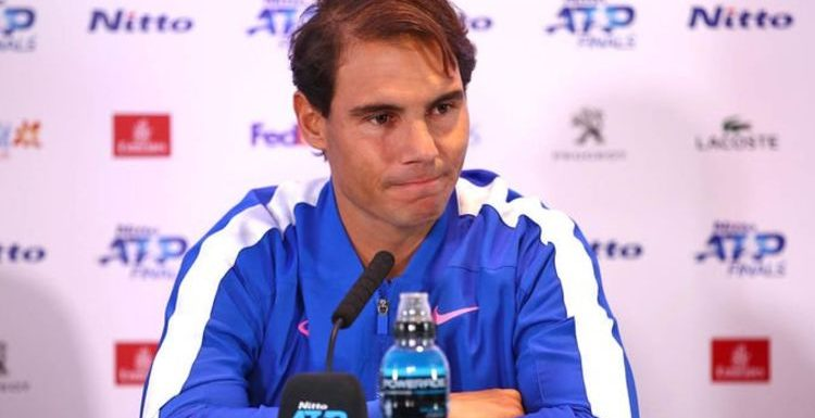 Rafael Nadal delivers injury update amid tennis fans' fears star will miss ATP Finals