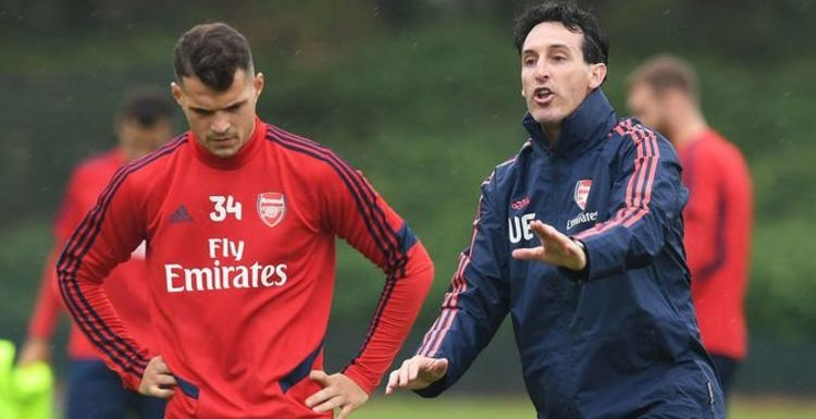 Granit Xhaka tells Unai Emery he can't play against Leicester as Arsenal exile continues