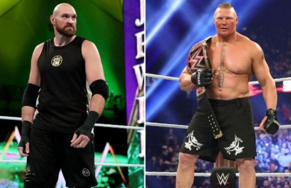 Tyson Fury threatens to 'flatten' WWE superstar Brock Lesnar after Deontay Wilder fight