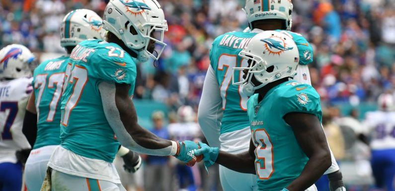 Miami Dolphins star displays astonishing speed in 101-yard touchdown