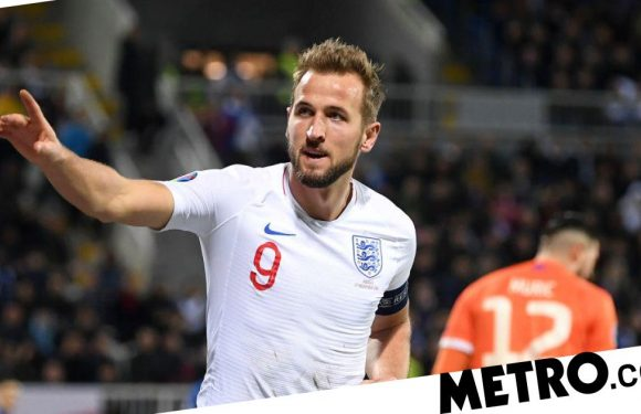 Harry Kane sets record as England thrash Kosovo in final Euro 2020 qualifier