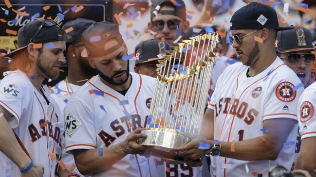 Houston Astros face allegations of cheating