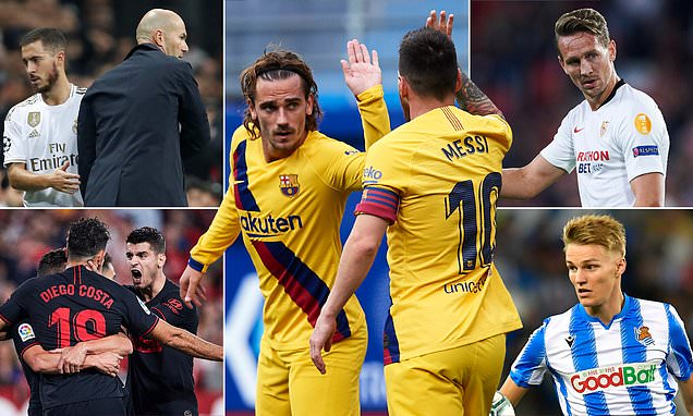 The La Liga title race nobody wants to win? Sportsmail examines