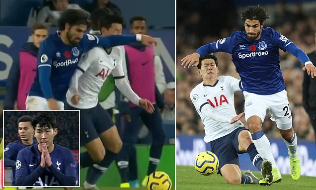 Son Heung-min's foul on Andre Gomes was a reckless act of retribution
