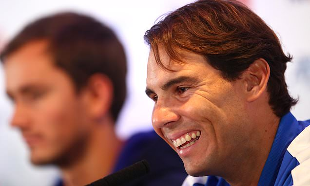 Rafael Nadal hopeful he will be fully fit in time for ATP Finals