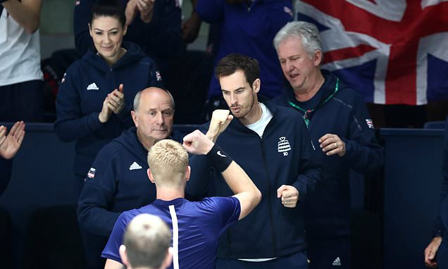 Great Britain tops its group at the Davis Cup