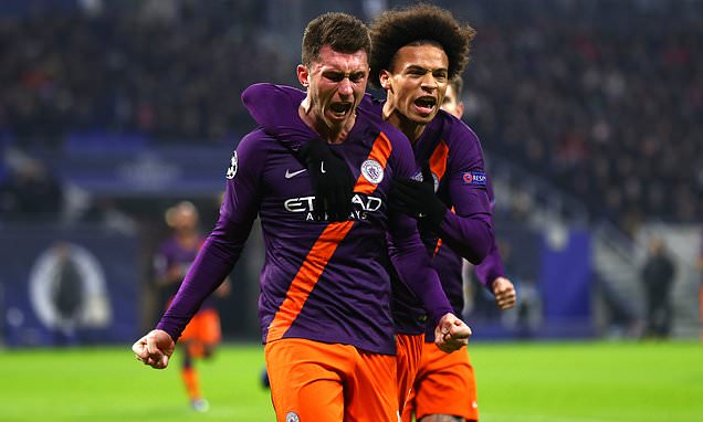Man City handed fitness boost as Laporte and Sane start rehabilitation