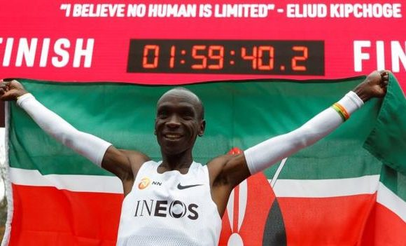 Eliud Kipchoge among five finalists for Male World Athlete 2019 award
