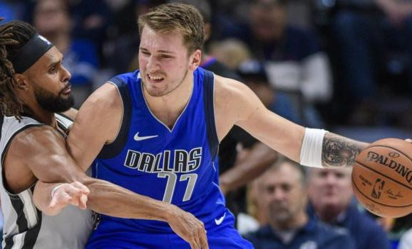 Luka Doncic scores 40-point triple-double as Dallas Mavericks beat San Antonio Spurs