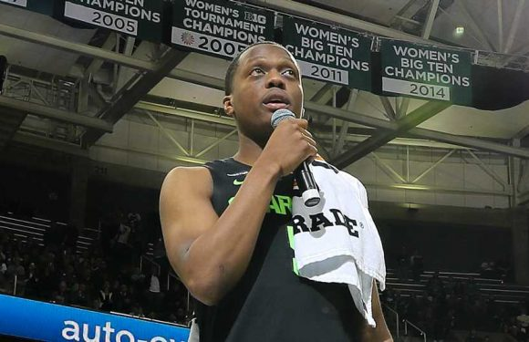 Cassius Winston thanks Michigan State fans for support after brother Zachary's death