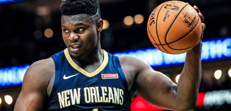 Zion 'getting stronger,' to play when Pels 'let me'