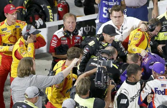 Denny Hamlin on feud with Joey Logano: He 'really breeds those type of things'
