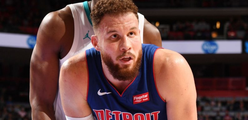 Detroit Pistons clear Blake Griffin to resume basketball activities