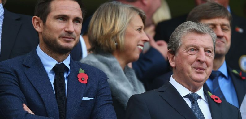 Frank Lampard managerial potential never in doubt, says Roy Hodgson